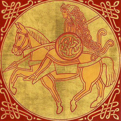 Adorno celta - Caballero