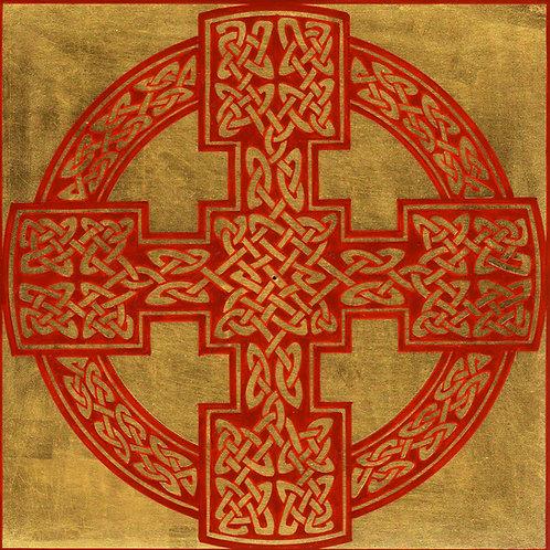 Celtic ornament - Cross 2