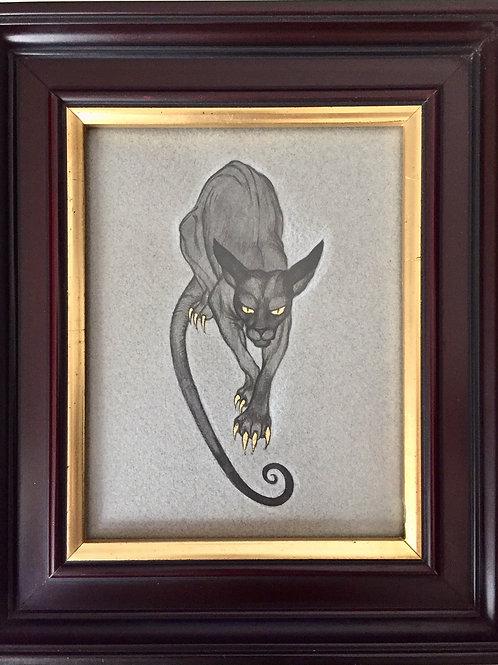 Drawing - Cat