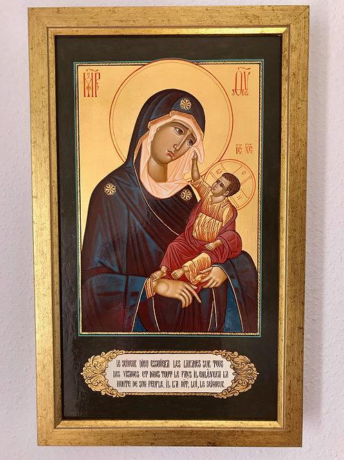 Madre de Dios icono de consolación