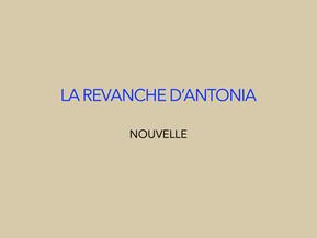 """""""La revanche d'Antonia"""" de Laurence Chaudouët"""