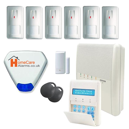 7 Zone Agility Alarm System Kit Installed