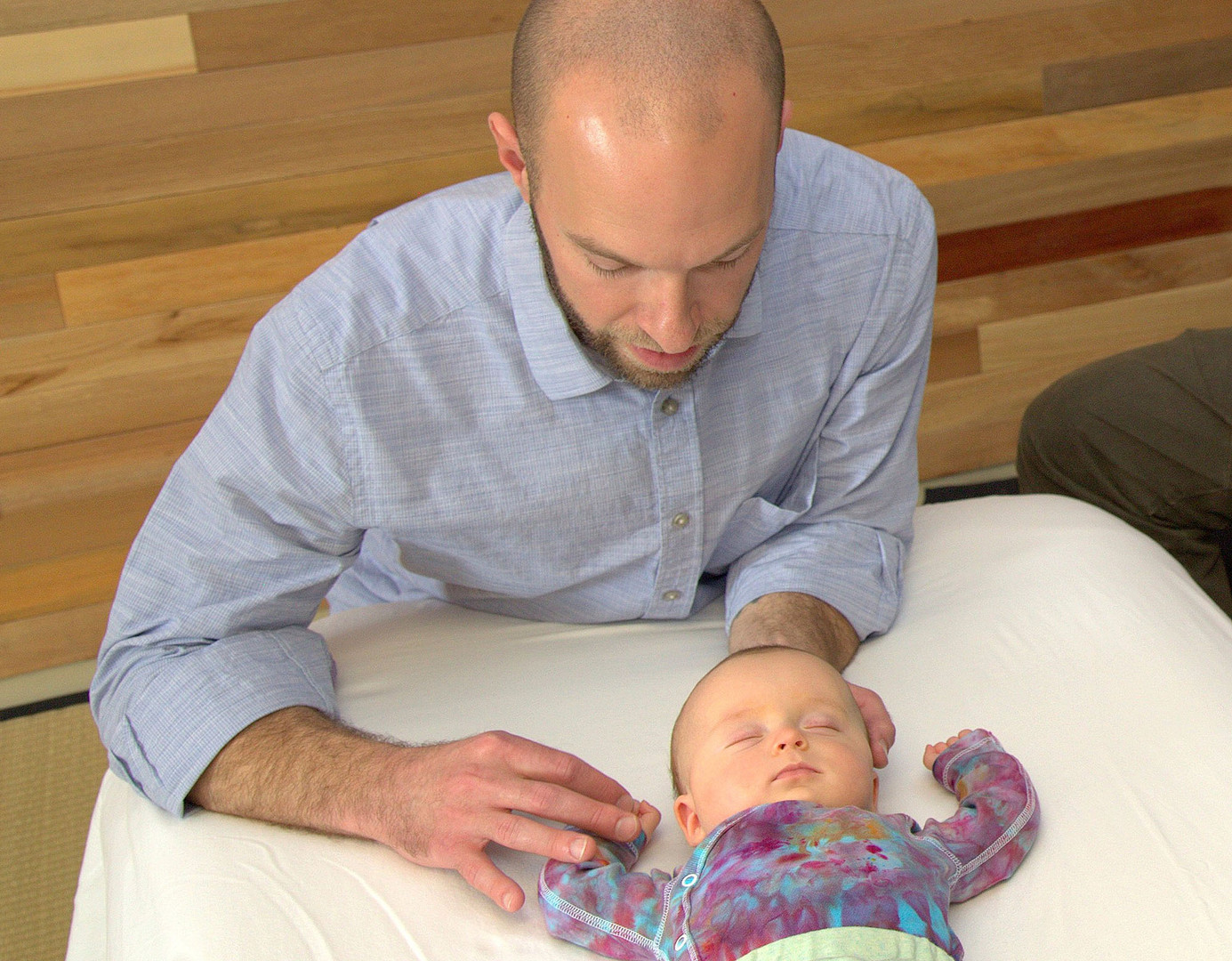 David A. Kaminker, LAc, MSOM,  pediatric acupuncture