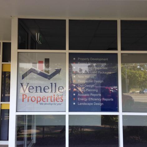 shopfront window property sign
