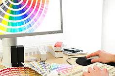 printing busines cards cmyk design