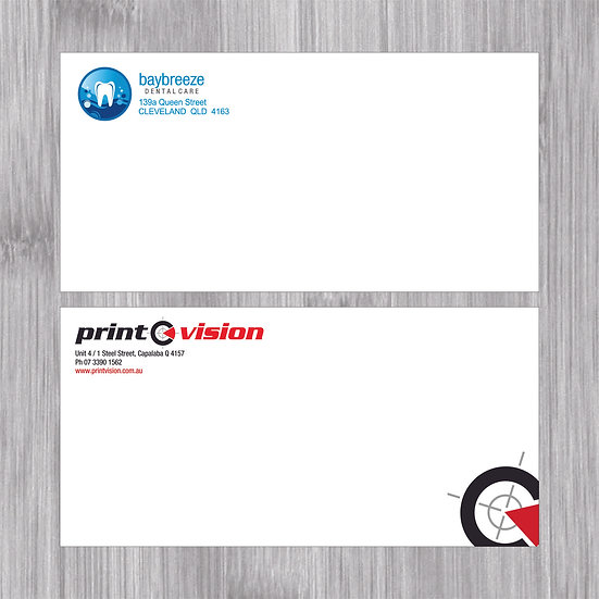 2,000 x DL Envelopes Plain Faced Full Colour