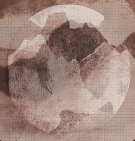 Sepia moonscape