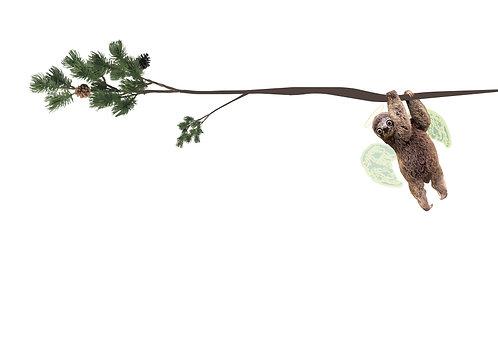 Verkeerde boom-Luiaard
