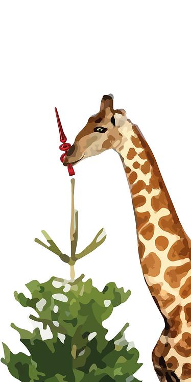 Hulpvaardige giraffe