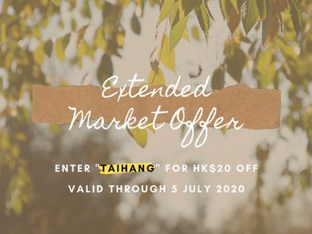 Extended Market Offer (till 5 July)