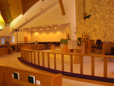 Advent Lutheran Church Sanctuary