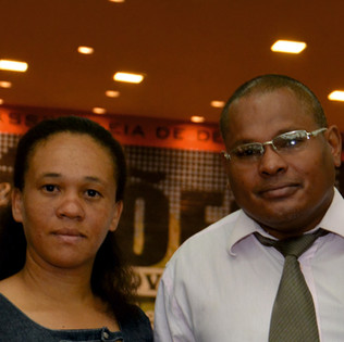Lucio e Liliane Sebastião