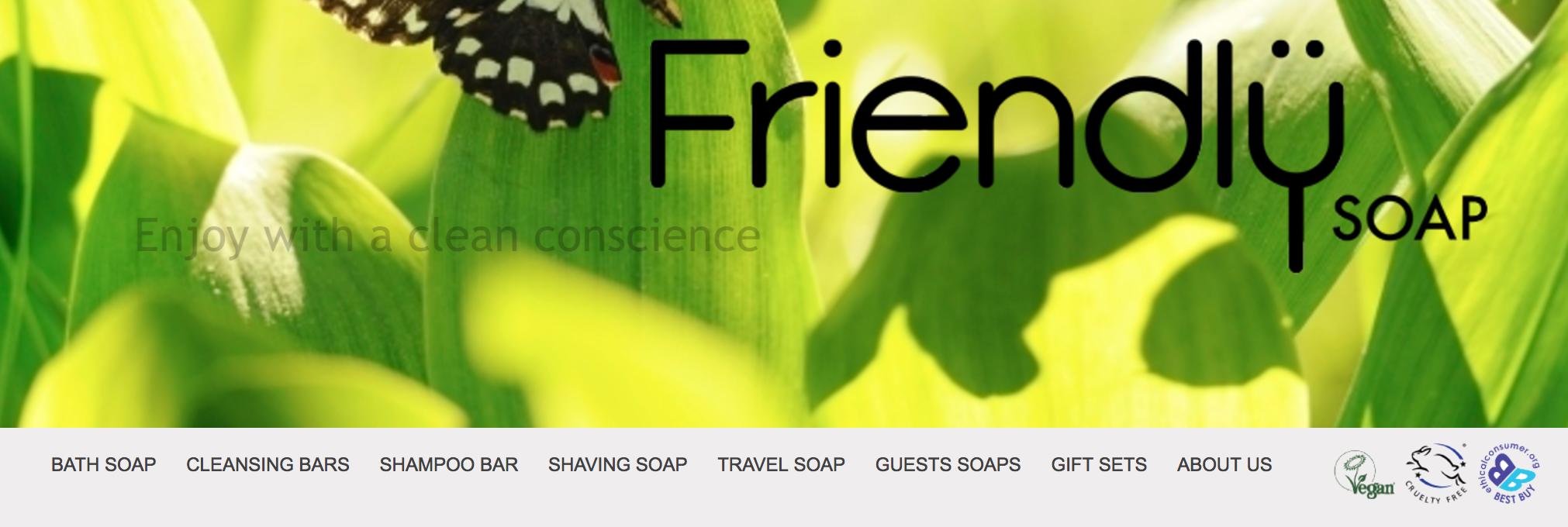 Friendly Soap cruelty-free logo