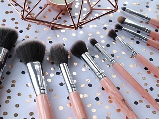 Rose Gold Dreams! BH Cosmetics // Rose Quartz 9 Piece Brush Set