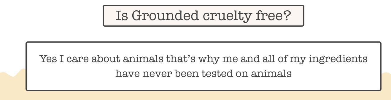 Gounded Body Scrub FAQ
