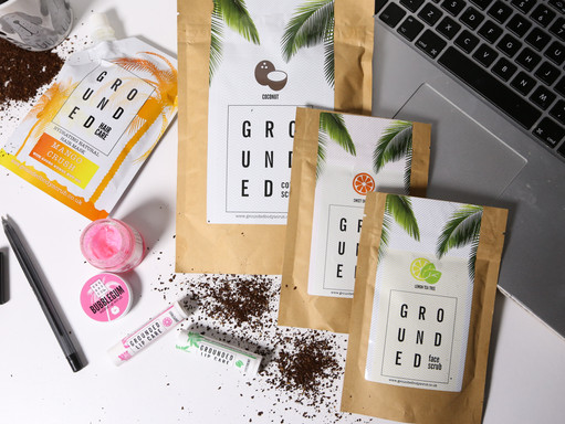 GET GROUNDED // GROUNDED BODY SCRUB