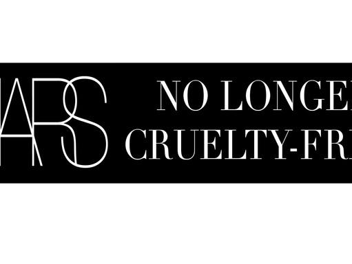 NARS - NO LONGER CRUELTY-FREE?! WHY?!