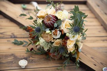 G & A Bouquet de mariée