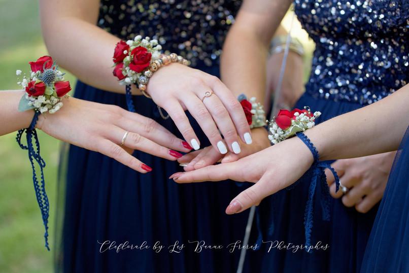 bracelets demoiselles d'honneurs