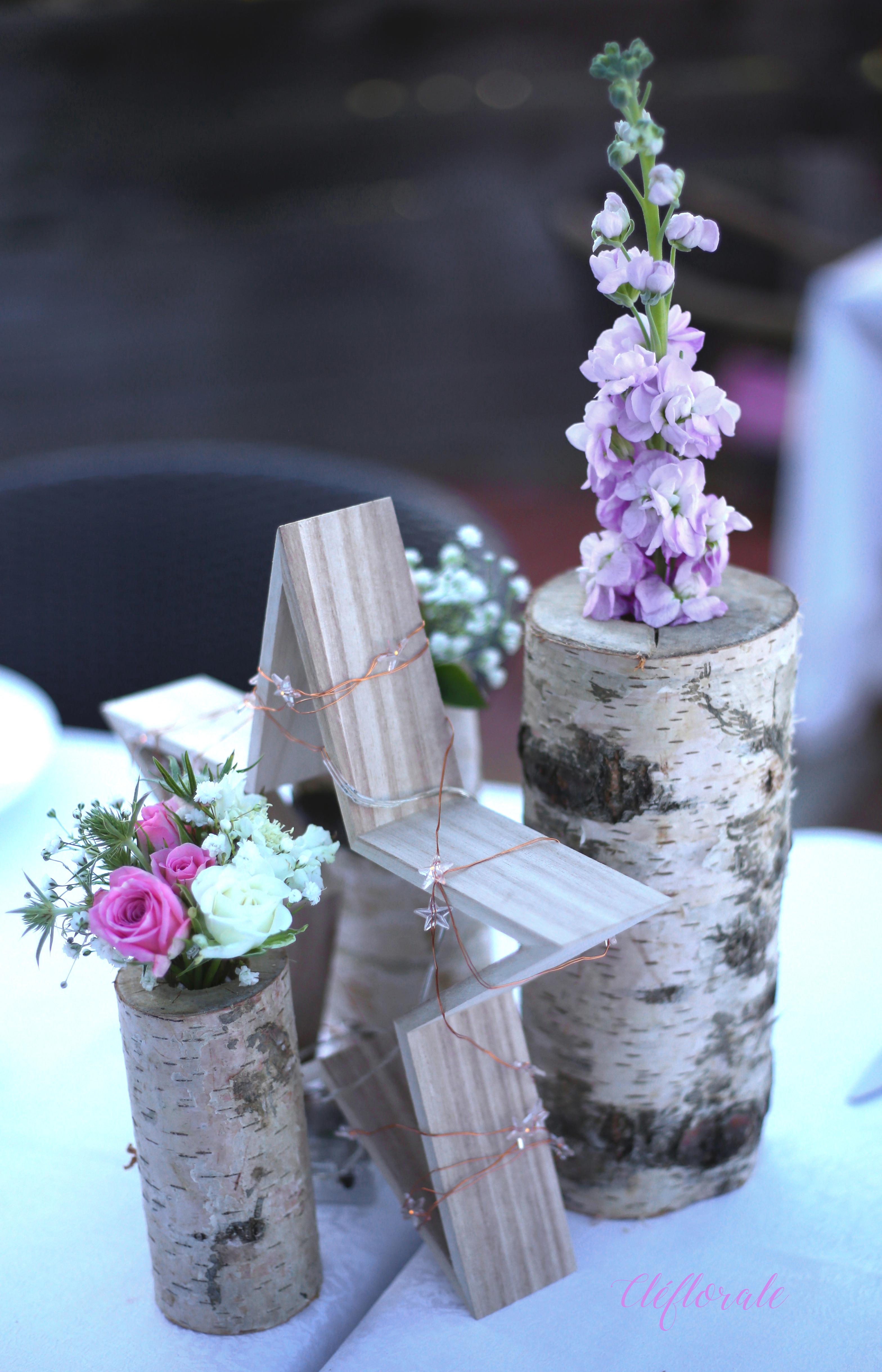 déco table mariés tagué