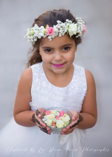 couronne de fleurs enfants