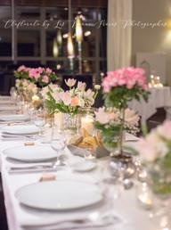 mariage rose plantes