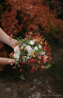 bouquet automne orange