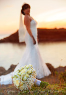 bouquet rose blanches