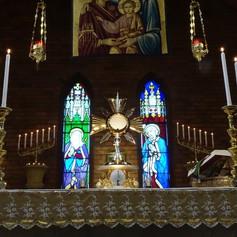 Rosenkransvaka i tid av oro och kris samt den Gudomliga Barmhärtighetens Novena