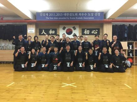 충남대검도동우인회 OB 선생님분들과 교류 후기