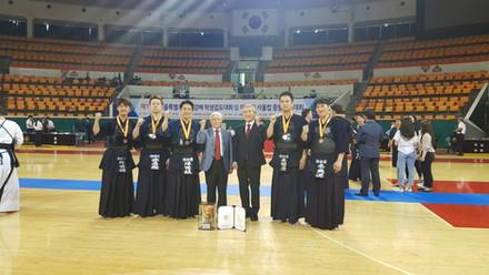 2019년 서울시검도대회 3위 입상