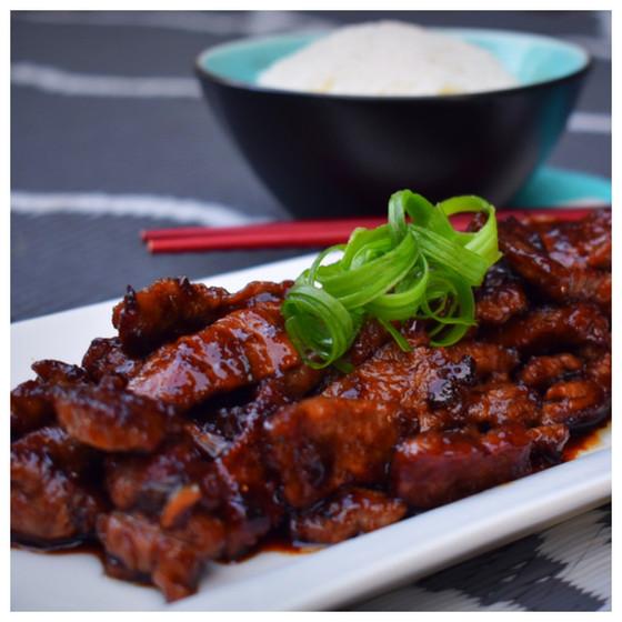Healthier Than PF Chang's Mongolian Beef