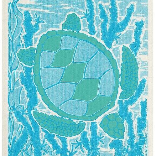 #9949 Turtle Swedish Dishcloth