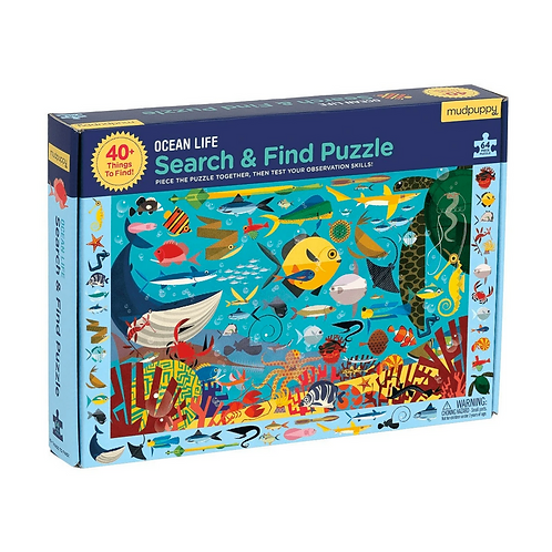 #10856 Ocean Life Search & Find Puzzle