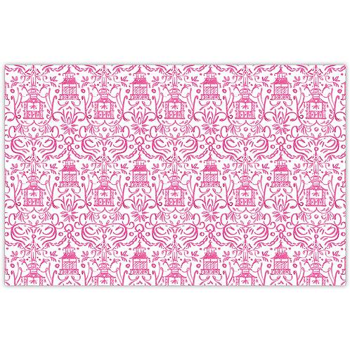 #11782 Pink Pagoda Placemats