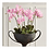 """Thumbnail: #3411 Phalaenopsis Orchid Drop-In 30"""", Pink"""