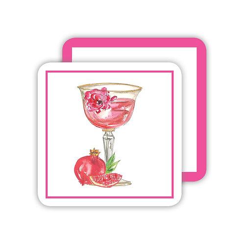 #10132 Le Fleur Rouge Coasters