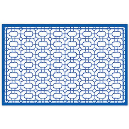 #11780 Blue Bamboo Placemats