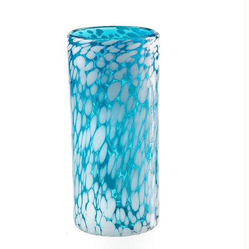 #10747 Glass Cylinder (Ocean Aqua)