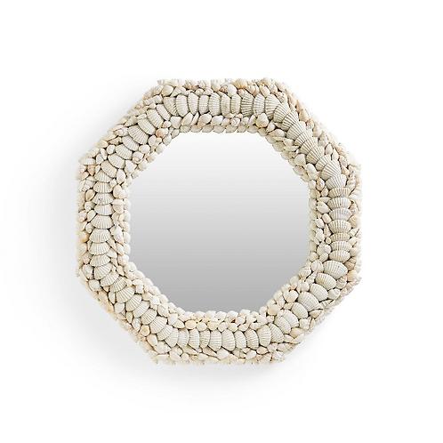 #11651 Shell Mosaic Mirror
