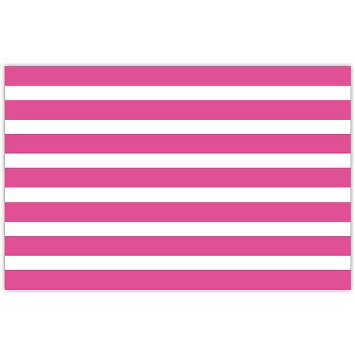 #10159 Pink Cabana Stripe Placemats