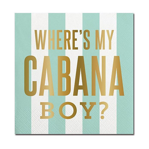 #10000 Cabana Boy Cocktail Napkins