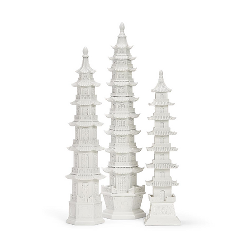 White Pagodas
