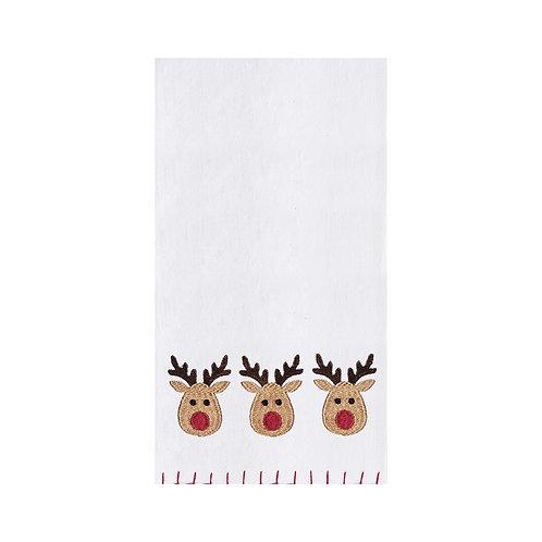 #10683 Reindeer Towel
