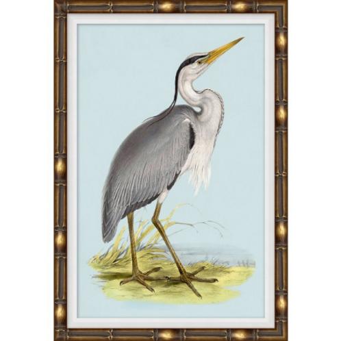 #11030 Heron on Blue 3