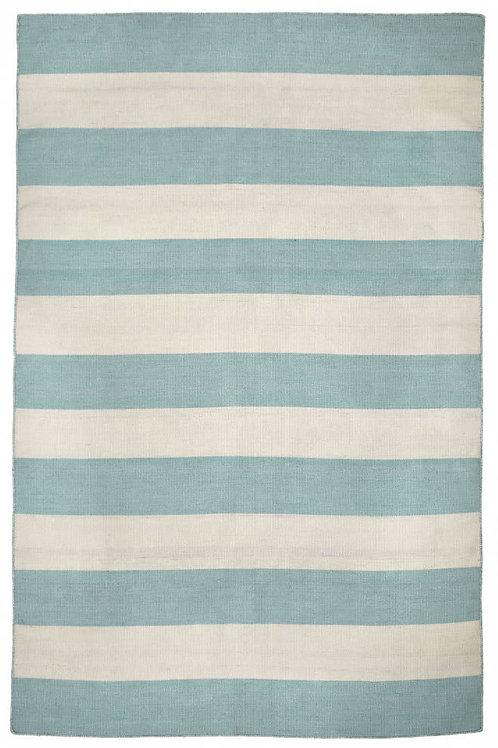 #11066 Stripe Aqua Rug