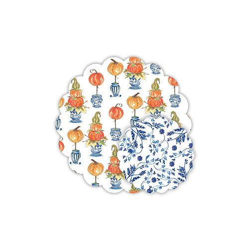 =#12399 Scalloped Placemats & Doilies