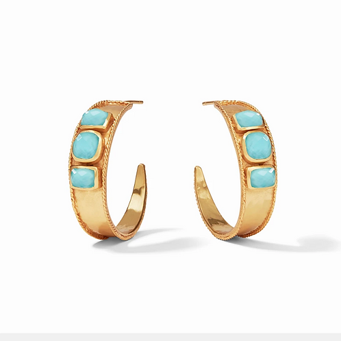 #11962 Savoy Statement Hoops (Pacific Blue)