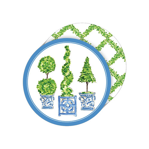 #11766 Topiary Trio Coasters