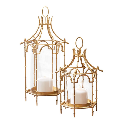 Gold Pagoda Lantern